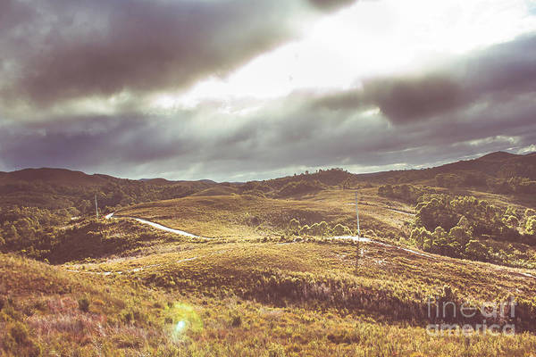 Wall Art - Photograph - Hills And Outback Tracks by Jorgo Photography - Wall Art Gallery
