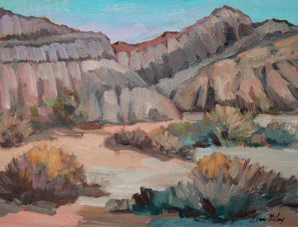 Wall Art - Painting - Hills At Box Canyon by Diane McClary