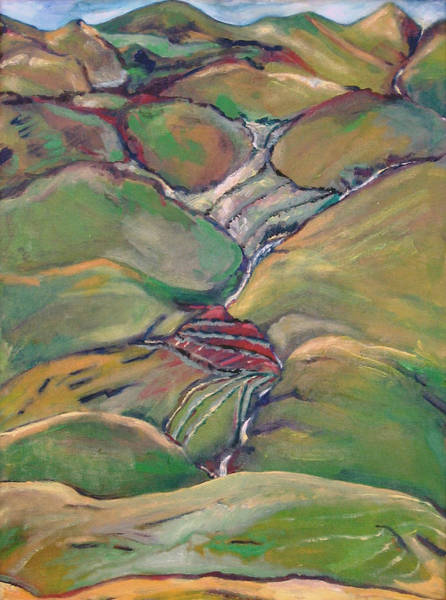 Painting - Hills Of Clare Island by Kathleen Barnes