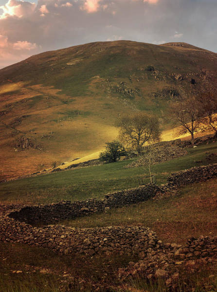 Photograph - Hills Of Scotland At The Sunset by Jaroslaw Blaminsky