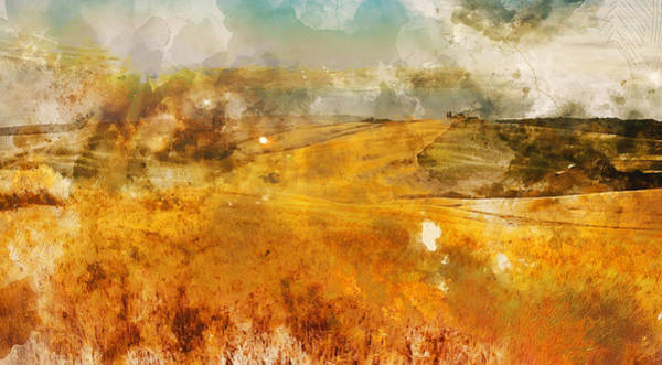 Painting - Hills Of Tuscany - 16 by Andrea Mazzocchetti