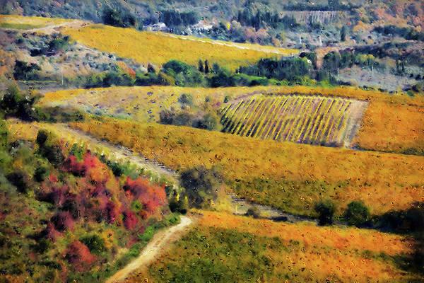 Painting - Hills Of Tuscany - 26 by Andrea Mazzocchetti