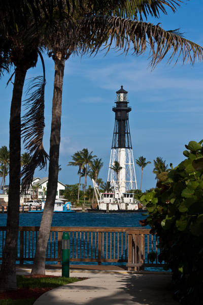 Photograph - Hillsboro Inlet Lighthouse And Park by Ed Gleichman