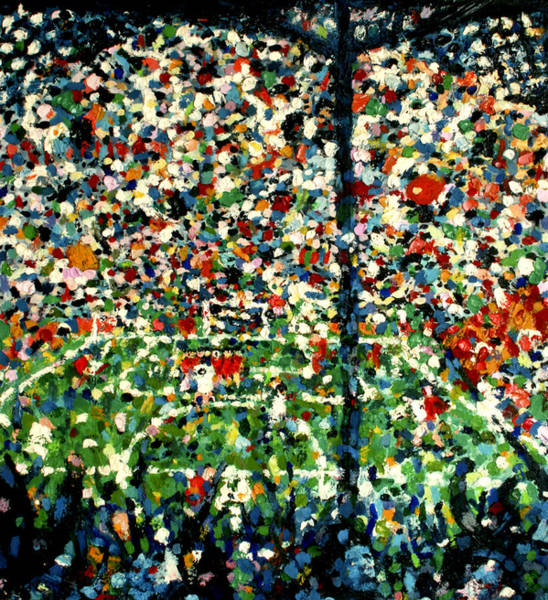 Tragedy Painting - Hillsborough by Andy  Mercer