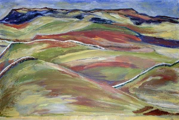 Northern Hills, Clare Island Art Print