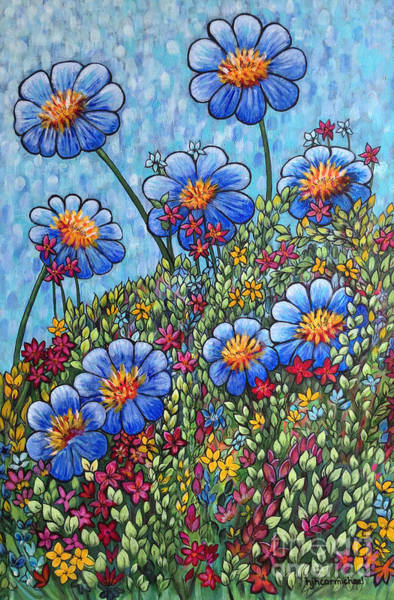Painting - Hillside Blues by Holly Carmichael
