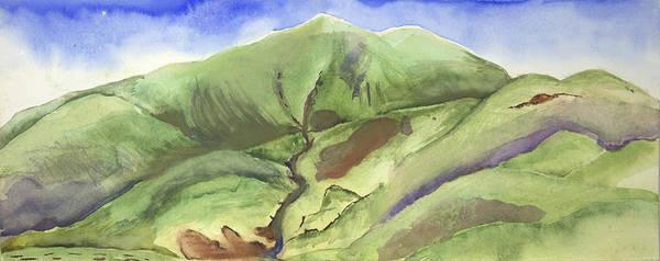 Hillside Panorama Art Print