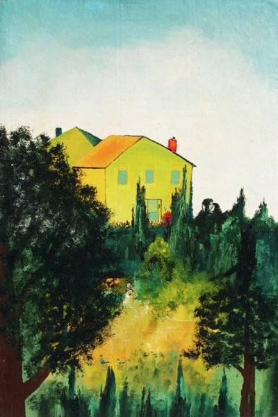 Painting - Hillside Romance by Edward Longo