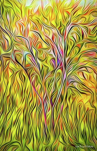Digital Art - Hillside Splendor by Joel Bruce Wallach