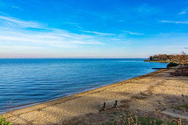 Hillsmere Beach On The Chesapeake Art Print