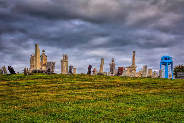 Photograph - Hilltop Graveyard by John M Bailey