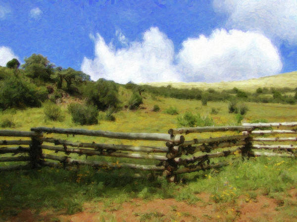 Painting - Hilltop Meadow Cedar Mountain - Lnd961601 by Dean Wittle