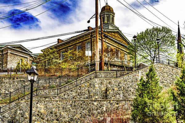 Photograph - Hilltop Stairs by William Norton