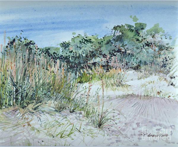 Painting - Hilton Head Beach Fauna by P Anthony Visco