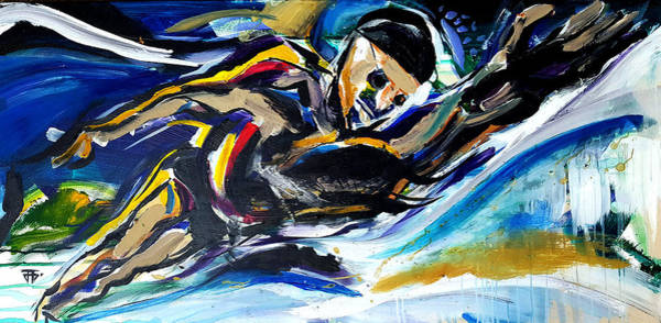 Painting - Him Swim by John Jr Gholson