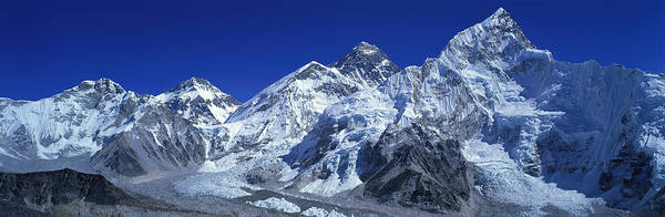 Khumbu Wall Art - Photograph - Himalaya Mountains, Nepal by Panoramic Images