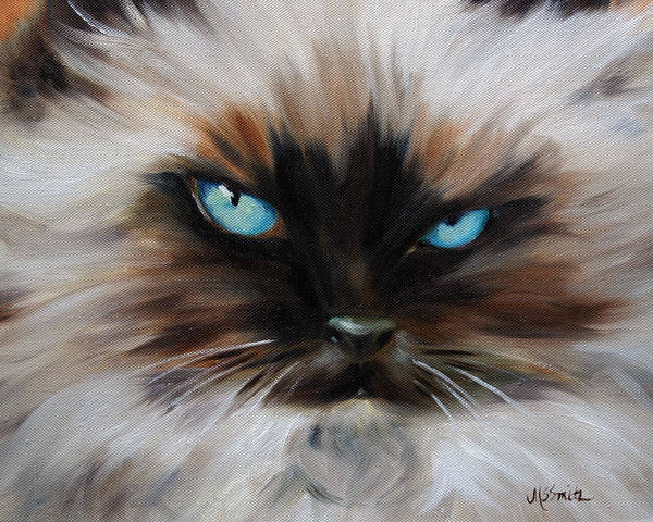 Wall Art - Pastel - Himalayan by Mary Sparrow