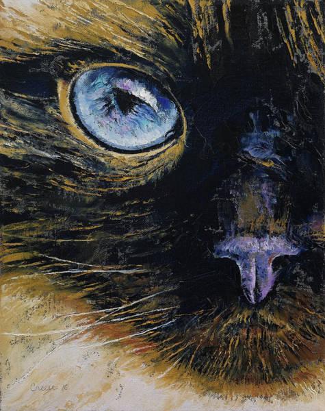 Himalaya Wall Art - Painting - Burmese Cat by Michael Creese