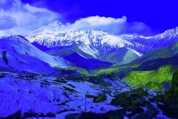 Photograph - Himalayan Mountain Dream by Aidan Moran