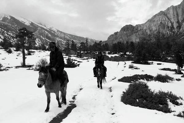 Photograph - Himalayan Riders by Aidan Moran
