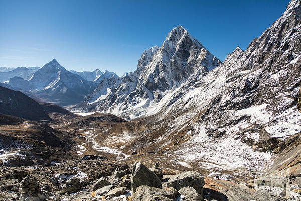 Photograph - Himalayas From The Cho La Pass In Nepal by Didier Marti