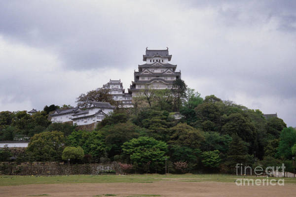 Kansai Region Wall Art - Photograph - Himeji Castle by Ei Katsumata