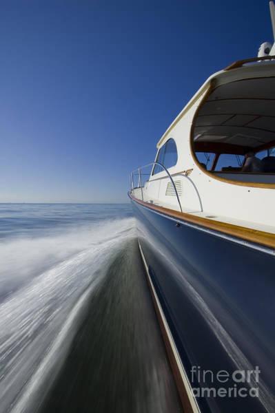 Motor Boat Photograph - Hinckley Talaria 44 Motor Yacht by Dustin K Ryan