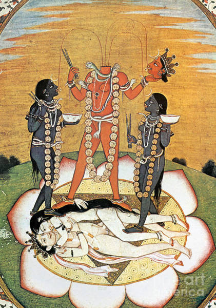 Painting - Hindu Goddess: Kali by Granger