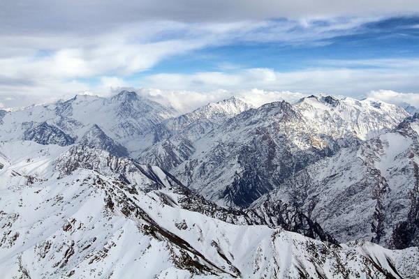 Photograph - Hindu Kush Snowy Landscape by SR Green