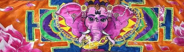 Wall Art - Painting - Hindu Shawl by Katherine McLeod