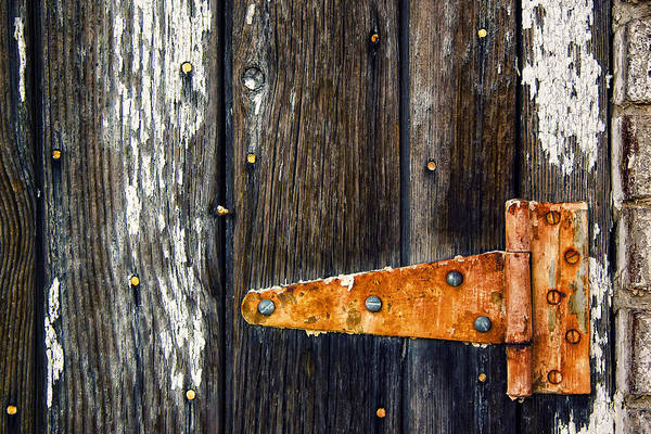 Hinges Photograph - Hinge by Humboldt Street