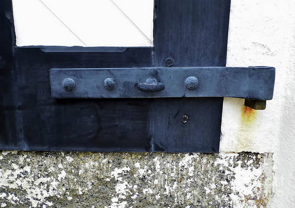 Photograph - Hinge On The Lighthouse Door by D Hackett