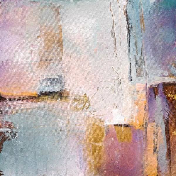 Wall Art - Painting - Hint Of Gold by Karen Hale
