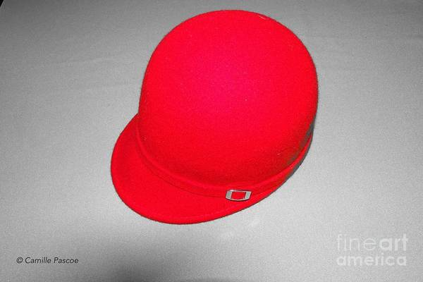 Hints Of Red - Hat Art Print