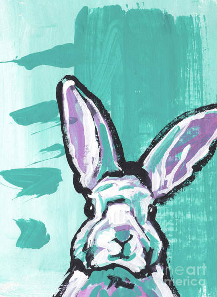 Rabbit Painting - Hip Hop by Lea
