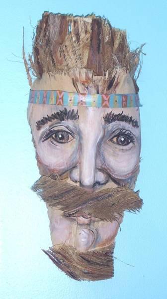Caricature Mixed Media - Hippie Frondz by Ellen Burns