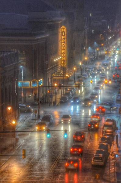 Baltimore Photograph - Hippodrome Theatre - Baltimore by Marianna Mills