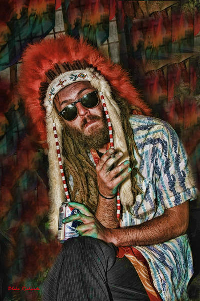 Photograph - Hippy Indian by Blake Richards