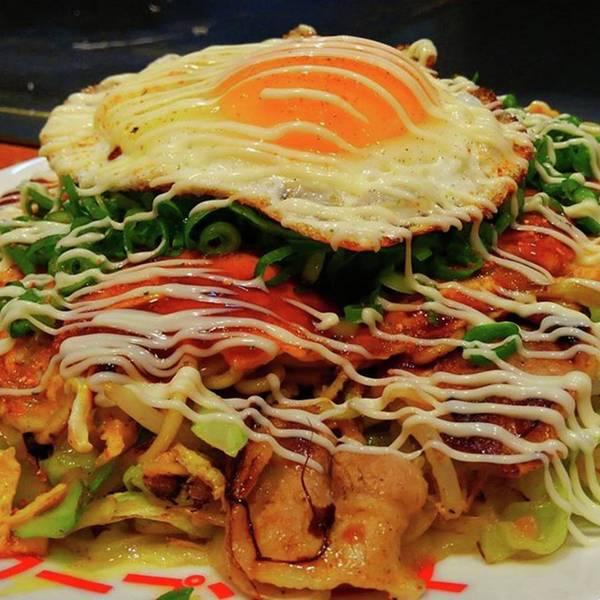 Strong Wall Art - Photograph - Hiroshima Soul Food Okonomiyaki by Nori Strong
