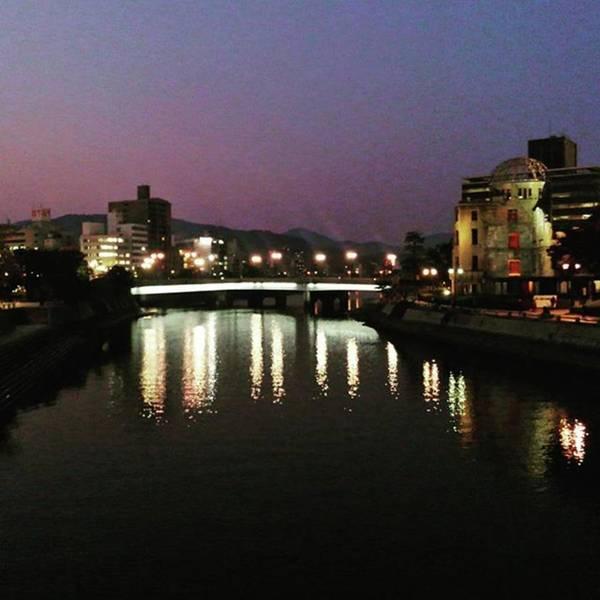 Strong Wall Art - Photograph - Hiroshima Sunset by Nori Strong