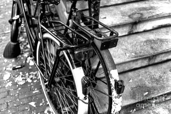 Photograph - His And Hers In Amsterdam Mono by John Rizzuto