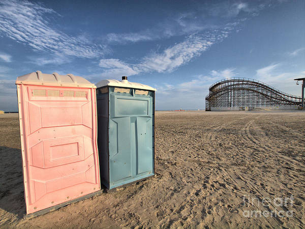 Privy Photograph - His And Hers by Valerie Morrison
