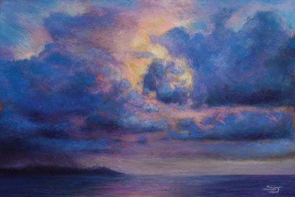 Pastel - His Glory by Susan Jenkins