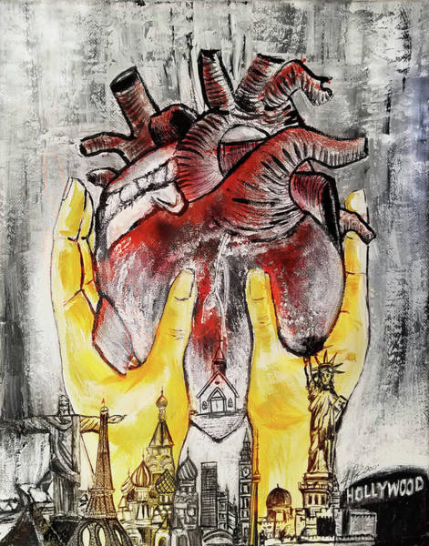 Painting - His Heart by Jennifer Page