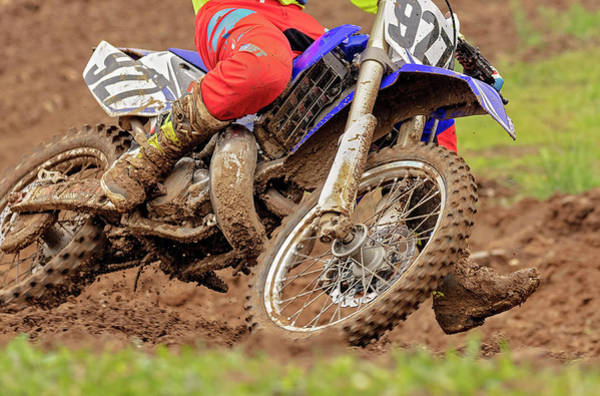 Dirt Bike Photograph - His Name Is Mud by Pat Eisenberger