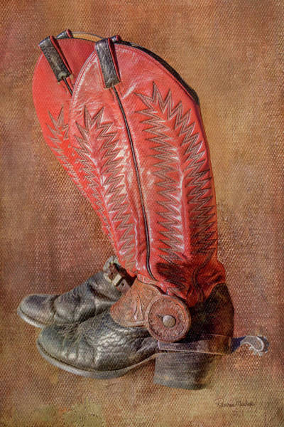 Photograph - His Workin Boots by Ramona Murdock