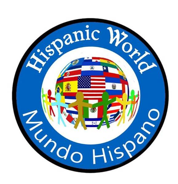 Bolivia Mixed Media - Hispanic World Spanish Teacher Latino Countries Flags Spanish Quotes by Gabby Dreams