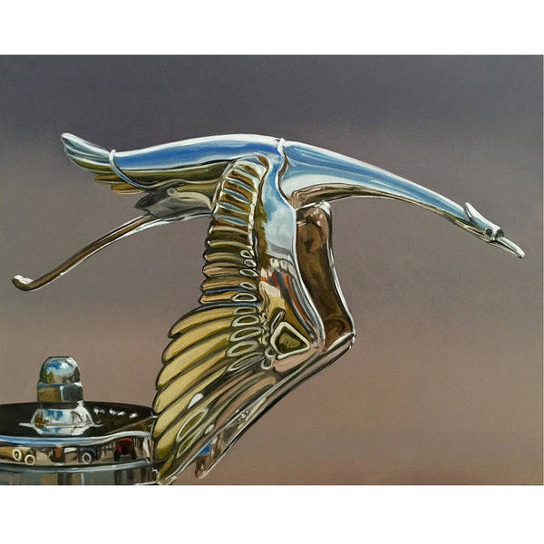 Wall Art - Painting - Hispano-suiza by Marcel Franquelin