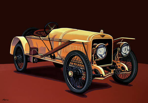 Wall Art - Painting - Hispano Suiza T15 Alfonso Xlll 1912 Painting by Paul Meijering