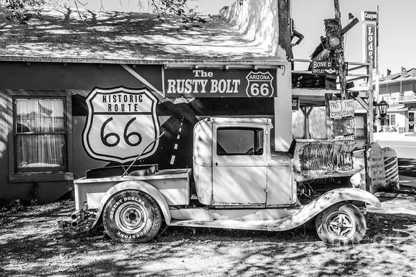 Photograph - Historic 66  Roadside  by Anthony Sacco
